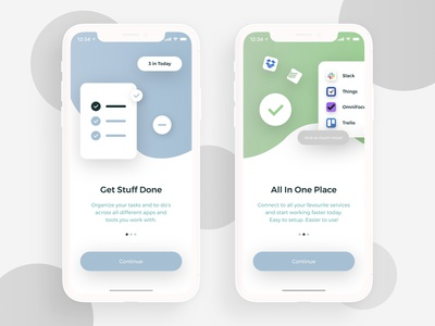 Daily UI 023 - Onboarding todo welcome onboard onboarding 023 illustration clean card ui design gradient dribbble app ux daily ui dailyui daily challenge design interface ui