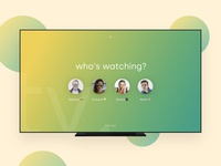 Daily UI 025 - TV App