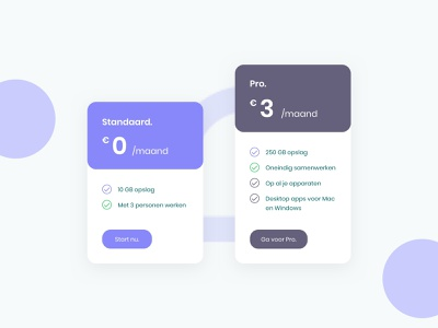 eduCloud Pricing table plan pricing plan educloud 030 daily ui dailyui daily pricing table table pricing cloud web dribbble card app ui design clean interface design ui