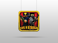 Cops n Robbers Icon design icon design games design games pixel pixel art illustration ui aplication apps design icon