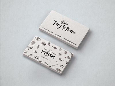 Sopranos - business cards