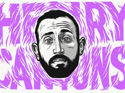 Underground Hip Hop Heads - Henry Canyons ipad pro art ipad pro adobe draw vector illustration