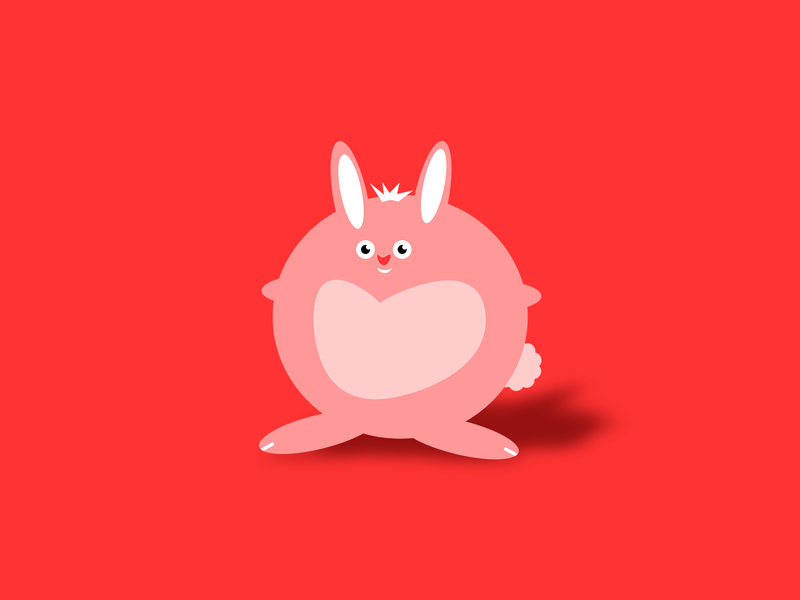 Funni Bunni By Justin Schaefer On Dribbble