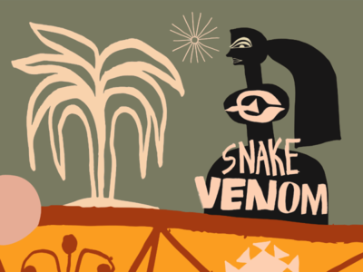 $nake Venom bird art nate williams illustration