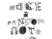 Ransom Note Generator