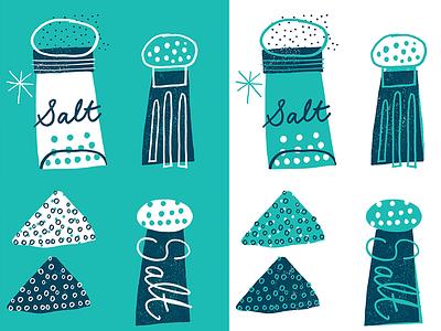 SALT nate williams design art handdrawn illustration