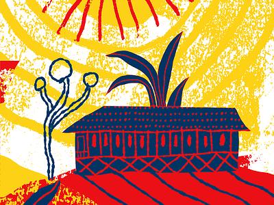 Coffee Packaging nate williams illustration handdrawn folk