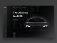 Audi R8 Landing Page