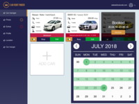 Car rent dashboard
