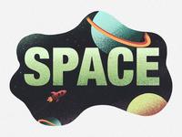 SPACE - PROCREATE ART