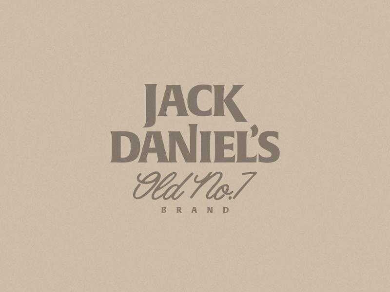 JACK DANIEL'S REBRAND logos brand rebrand logo jackdaniels
