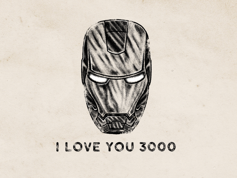 I LOVE YOU 3000 marvel iloveyou3000 ironman