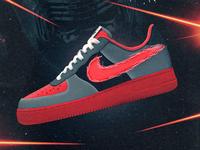 Nike x Kylo Ren Shoe