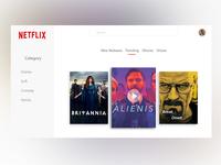 Netflix web app