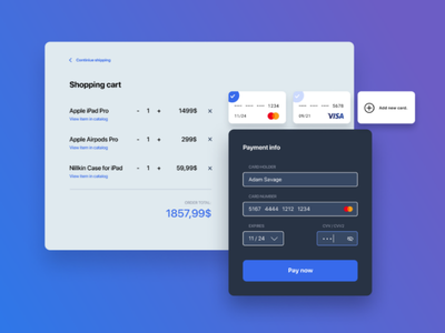 Tech store checkout form shipping graphics hover figma ux user interface ui payment 002 dailyui form checkout