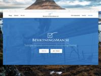 Besiktningsman.se landing page preview