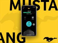 Ford Mustang concept app