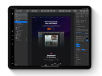 Sketch app for iPadOS - Concept ui design uidesign ipad app concept design conceptual concept app design graphics apple ipad pro design uxui ui sketchapp ipados ipadpro sketch