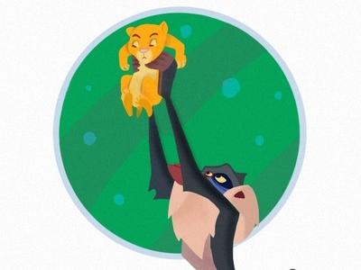 Lionking - illustration ipadpro illustraion sketch drawing draw ipad procreate app lionking procreate