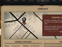 Contact Page Map