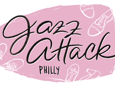 Lindy Logo in progress shoes illustration pink jazz dance philadelphia brush lettering hand lettering lettering