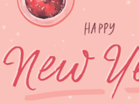 Happy New Year citrus