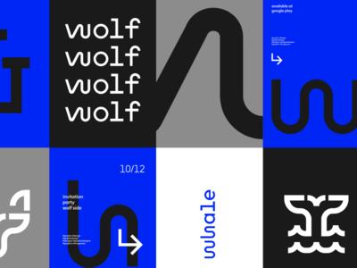 Wolf&Whale Branding