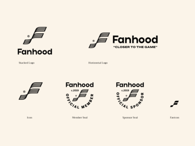 Fanhood Hoops Logo Variations