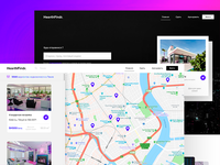Apartment rent aggregator homepage