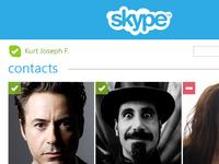 Skype Mobile Facelift Snippet
