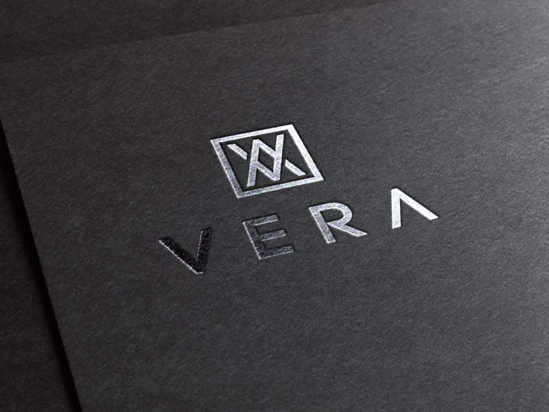 V + A for VERA branding vera typography beautiful creative letter simple creativeninja dribbble illustrator logo