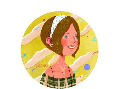 summer girl character taiwan artwork art illustration