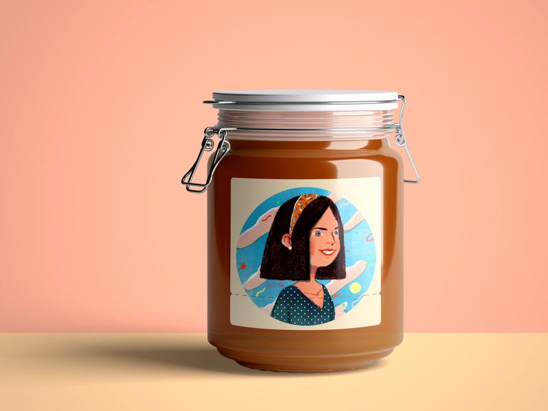 Jam, I love you packagedesign jam branding summer design taiwan art illustration