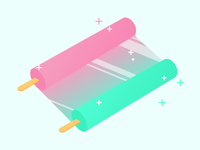 Two Ice Lolly
