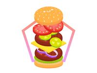 I am hamburger