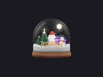 Crystal Ball&Merry Christmas