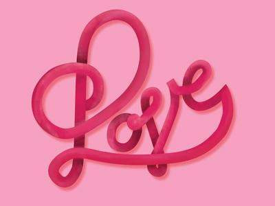 Love v1 painted dribbble