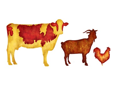 Dribbble chickengoatcow stacked 2