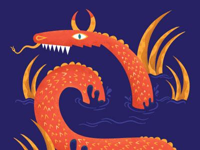 Seadragon monster seadragon