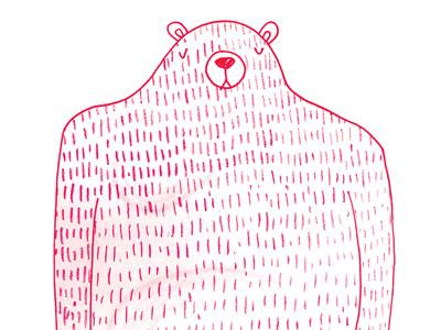 Bear dribbble