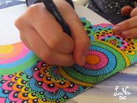 WIP New artwork. Process by Luna Portnoi