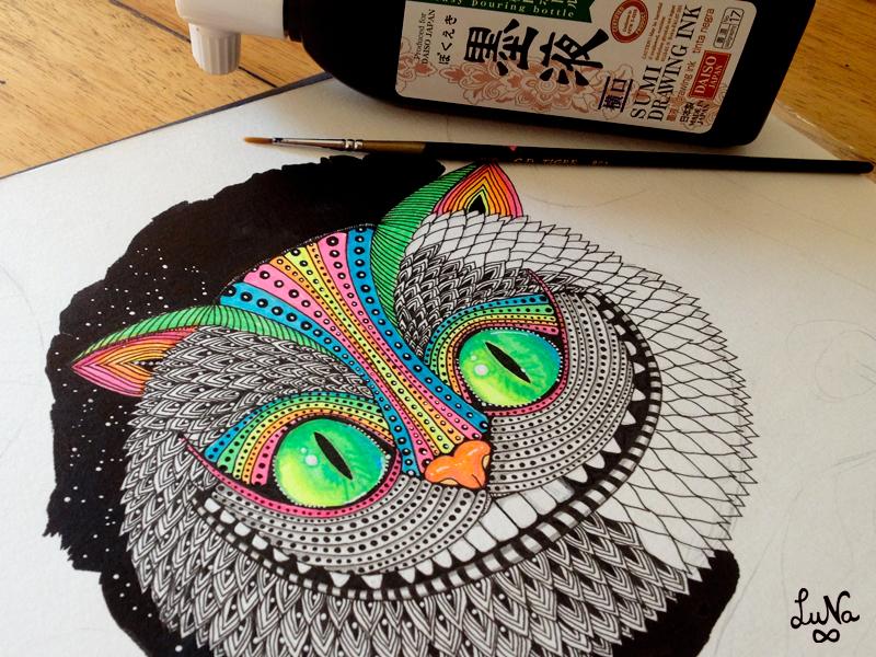 Cheshire Cat Coming - Sayjai Amigurumi Crochet Patterns ~ K and J ... | 600x800