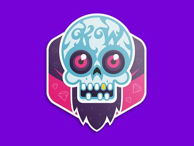 Skull Stickers stickers skull