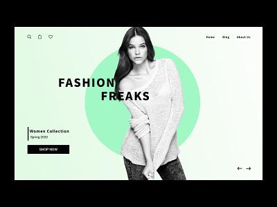 Fashion Design uiux uidesign ui fashion brand trend colors web design website girl brand fashion design fashion