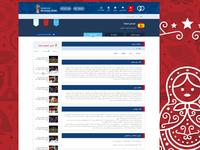 worldcup website/ team page