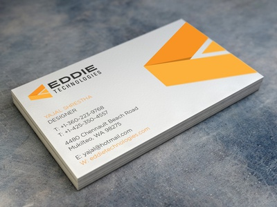 Eddie Business Card