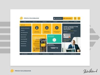 Providus Bank Web UI by Uche Richmond