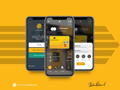 Providus App Redesign by Uche Richmond
