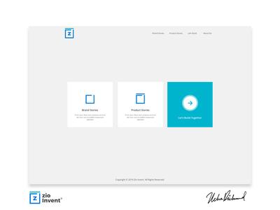 Zio Invent Web UI By Uche Richmond