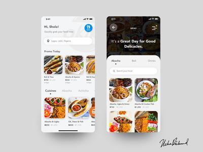 Okike Food App by Uche Richmond